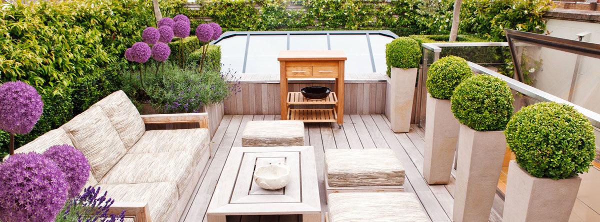 Departamentos con roof garden